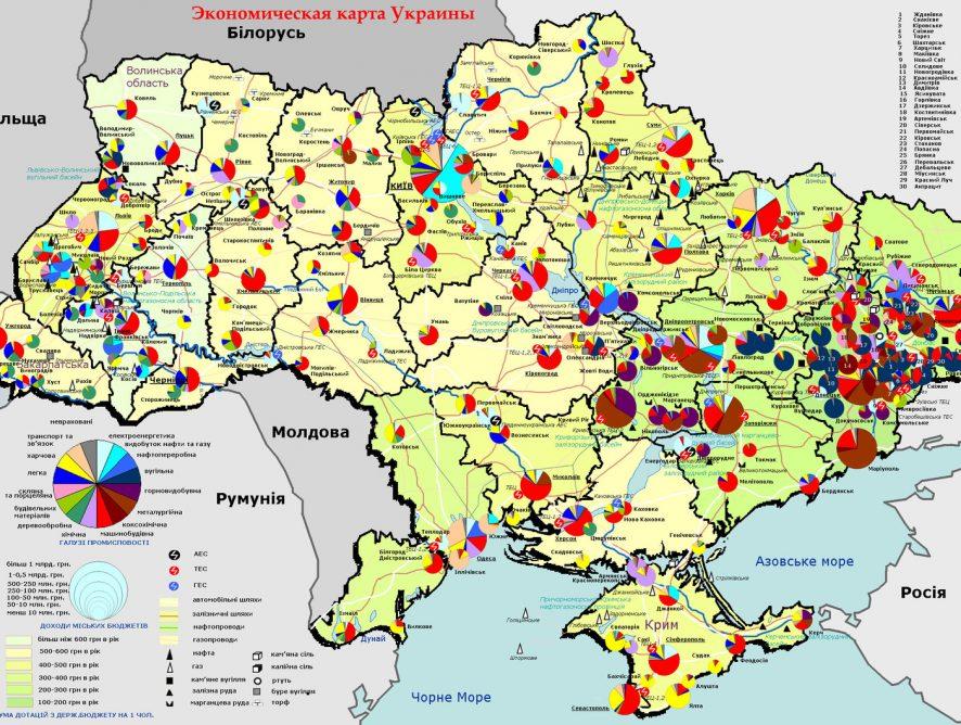 Модернізація економіки Донецької області: стратегічні сценарії реалізації з позиції сталого розвитку до 2020 року